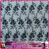 Cotton Dress Embroidery Lace Fabric