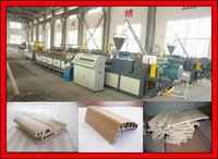 WPC Window And Door Profile Extrusion Machine