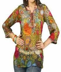 Ladies Printed Kurties