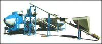 Concrete Batching Plant With Universal Feeding System