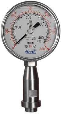Bourdon Tube Homogenizer Gauges