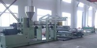 Pe/Pp/Ps/Pvc/Abs/Pmma/Pc Sheet/Board Extrusion Production Line