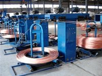 Upward Continuous Casting And Rolling Line For Oxygen-Free Copper Rod