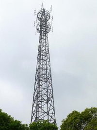 Triangular Communication Steel Tower