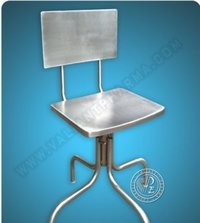 Ss Revolving Chairs With Adj Height