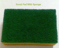 Scrub Pad With Sponges