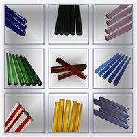 Colored 3.3 Borosilicate Glass Rods