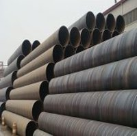 Helical Welded Steel Pipes