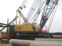 Rental Service Of Crawler Cranes