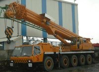 All Terrain Hydraulic Telescopic Cranes On Rent