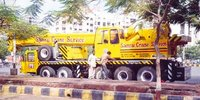 Mobile Hydraulic Cranes Rental Services
