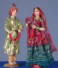 Dulha Dulhan Sculptures