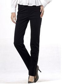 Women Long Black Causal Pants Jeans