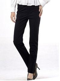 Women Long Black Causal Pants Jeans