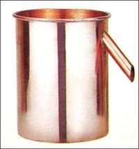 Copper Overflow Can