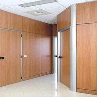 Full HT Wooden Partition