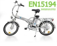 EN15194 Electric Foldable Bikes