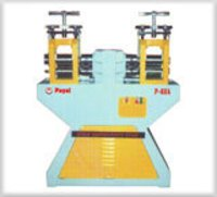 Single Phase Double Head Roll Press Machine