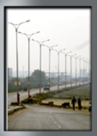 Galvanized Conical Poles