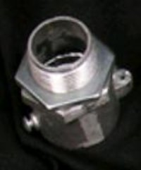 Aluminium Adapter (coupling) With Lock Nuts
