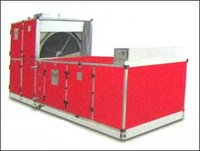 Fresh Air Handling Unit With Heat Recovery Wheel