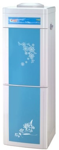 Standing Ice-Hot Water Dispenser With Disinfecting Cupboard