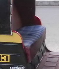 Auto Rickshaw Seat Covers
