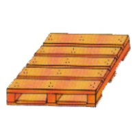 Double Deck Two Way Non Reversible Pallets