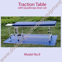 Traction Table With Quadriceps Facilities