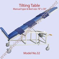 Manual Tilting Table