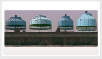 Frp Round Bottle Shape Cooling Tower