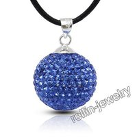 Swarovski Crystal Ball Pendants