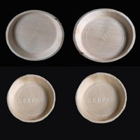 Arecanut Round Plates