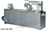 DPP-250J Flat-plate Type Al-plastic and Al-Al Blister Packing Machine