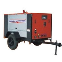 Diesel Engine Driven Screw Air Compressor