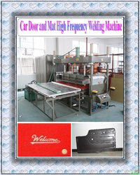 Car Interior High Frequency Welding And Embossing Machine