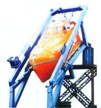 Free Fall Life Saving Boat Lowering Device