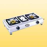 Double Burner Cooking Gas