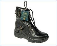 Leather Uniform Boots