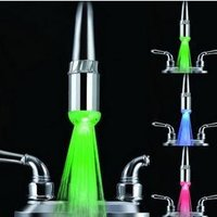 Temperature Sensor LED Faucet Light