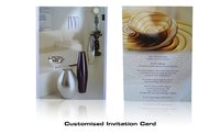 Customized Invitation Cards Printing Services