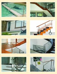 Round Staircase Railings