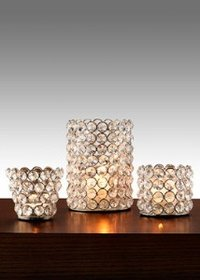 Crystal T-Light Holders