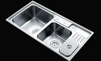 Double Bowl Stainless Steel Kitchen Sink KY-H9445R