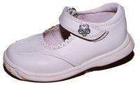 Girls White Color Shoes