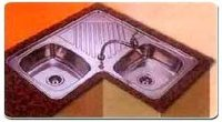 Cornered Kitchen Sinks