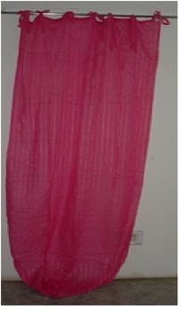 Plain Cotton Curtains