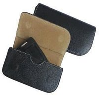 Leather Mobile And Camera Pouches