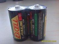 Excell D/LR20 Alkaline Batteries