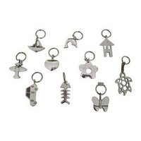 Aluminium Key Rings